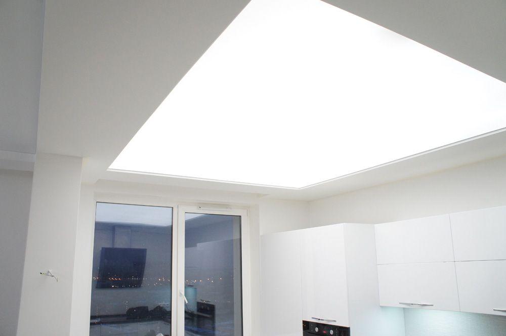 Полупрозрачные потолки со светодиодной подсветкой