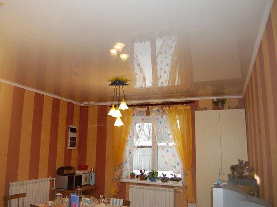 Натяжные потолки на низкий потолок