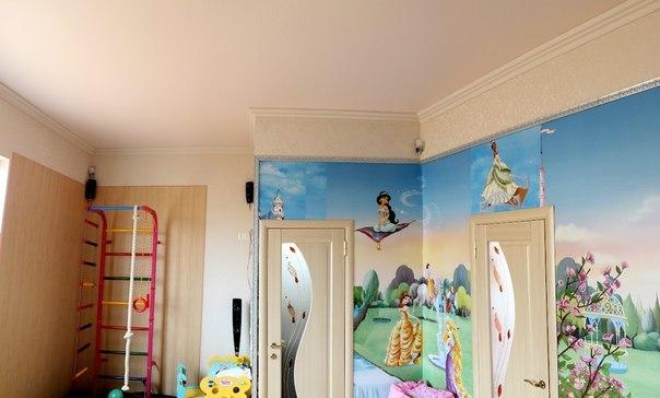натяжные потолки для комнат