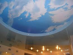 двухуровневый с облаками