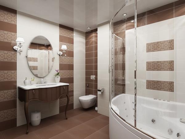 глянец в ванной