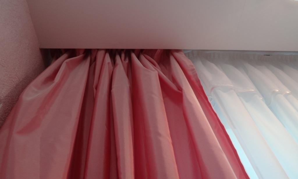 карниз под шторы