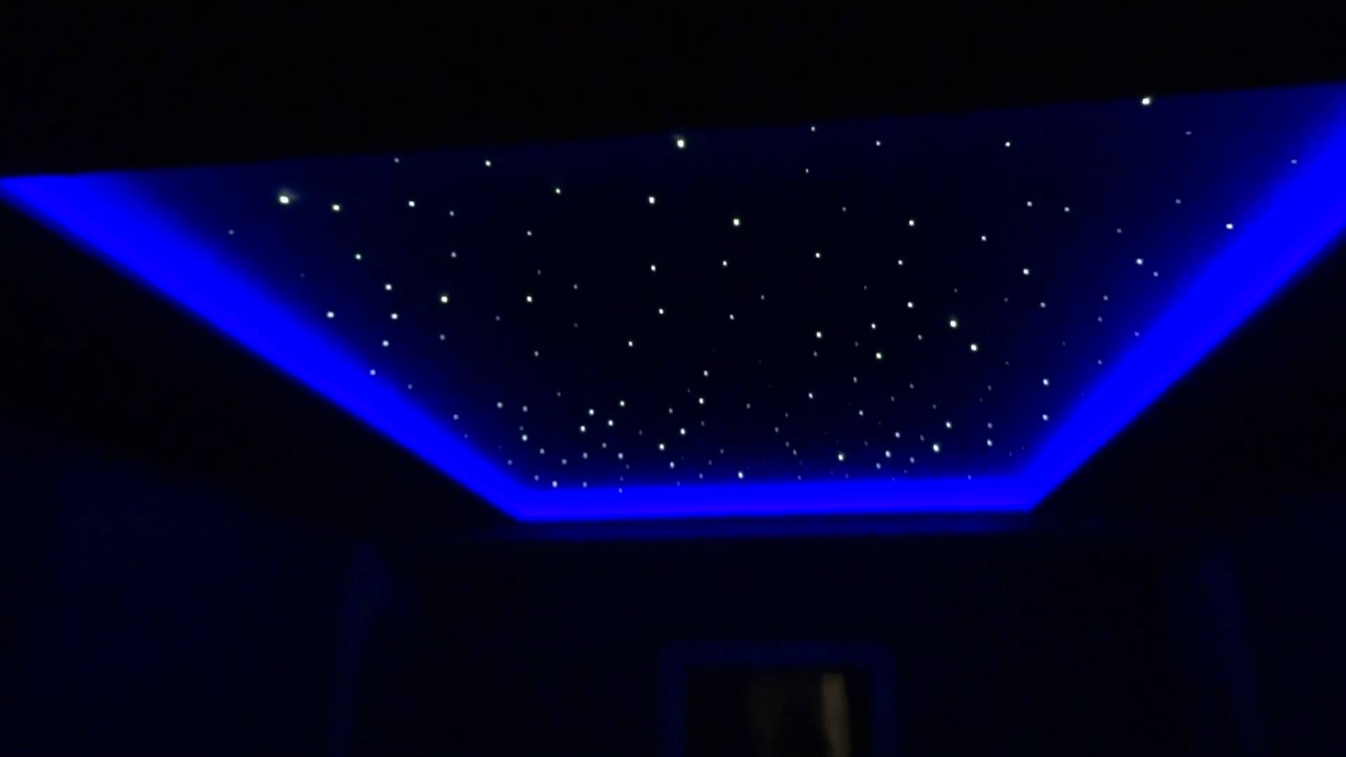 потолок - звездное небо